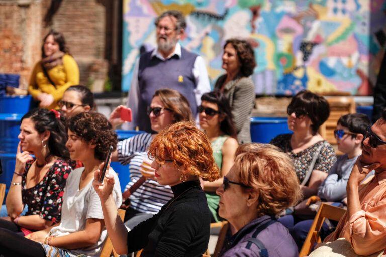 Escenari Calma, diumenge 12. Fira Literal 2019. 11 i 12 de maig de 2019, Fabra i Coats, Sant Andreu (Barcelona)