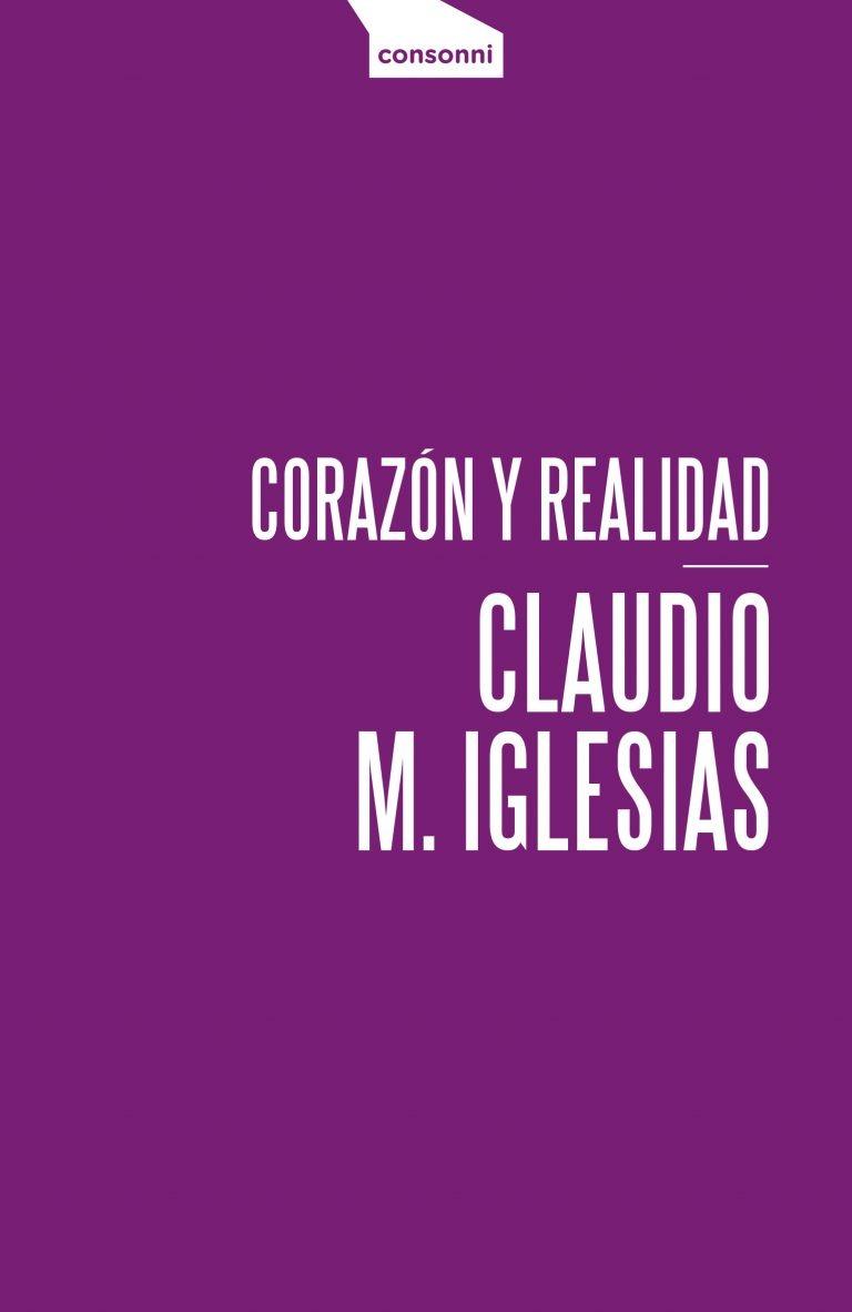 Portada de Corazón y realidad de Claudio Iglesias