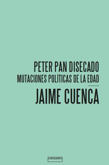 Portada de Peter Pan disecado de Jaime Cuenca